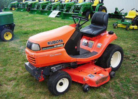 Kubota TG1860G lawn tractor photo