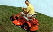 Toro Big Red 34 51070 lawn tractor photo