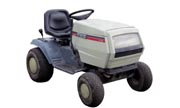 White LT-145 lawn tractor photo