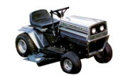 White T-110 lawn tractor photo