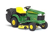 John Deere LTR180 lawn tractor photo