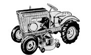 Burns B-90-E Suburban lawn tractor photo