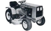 Gilson 53020 H-16 lawn tractor photo