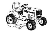 MTD 998 lawn tractor photo