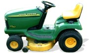 John Deere LT155 lawn tractor photo