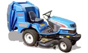 Iseki SGR22 lawn tractor photo